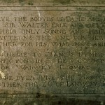 Text on the Erle Monument