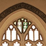 The chancel window.