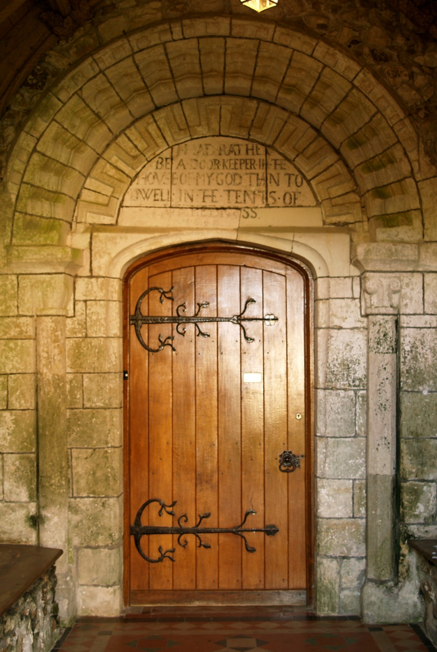 The North Door & North Door and Font « Axmouth Church